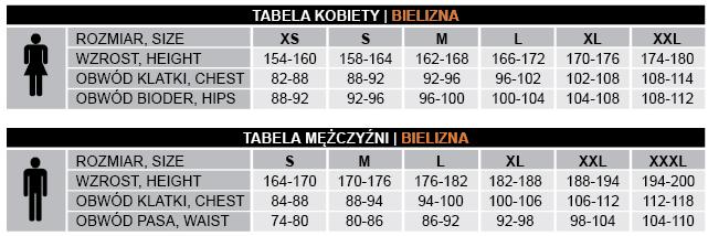 brubeck tabela rozmiarów
