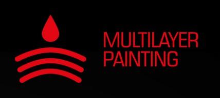 kross vento multilayer painting malowanie