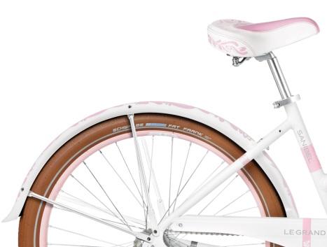 rower miejski Sanibel 1 zdobiony le grand