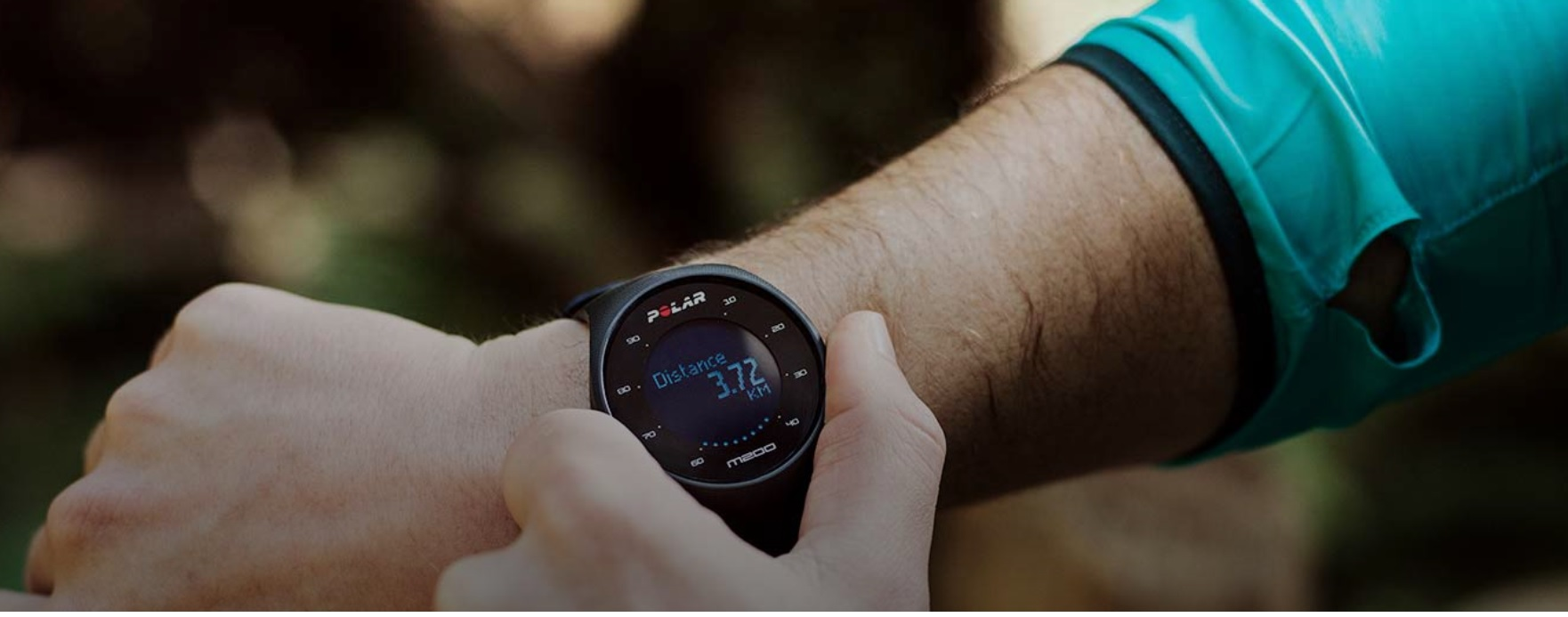 polar pulsometr m200 dla biegaczy