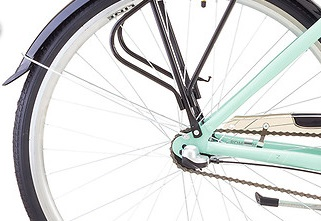 rower miejski romet moderne 3 piasta tylna