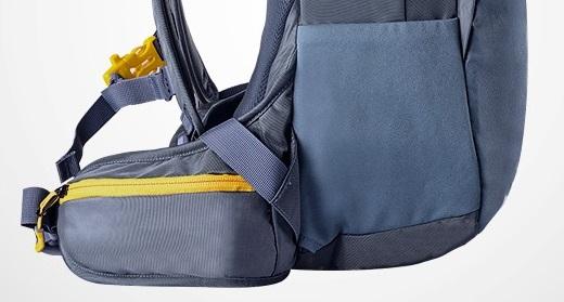 roswheel plecak rowerowy siateczkowe kieszenie