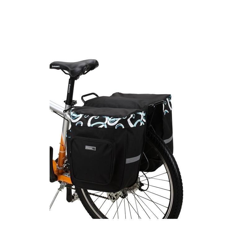 sakwa rowerowa roswheel dwukomorowa