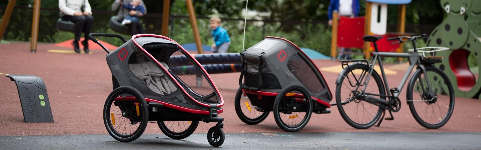 przyczepka rowerowa hamax dla dziecka