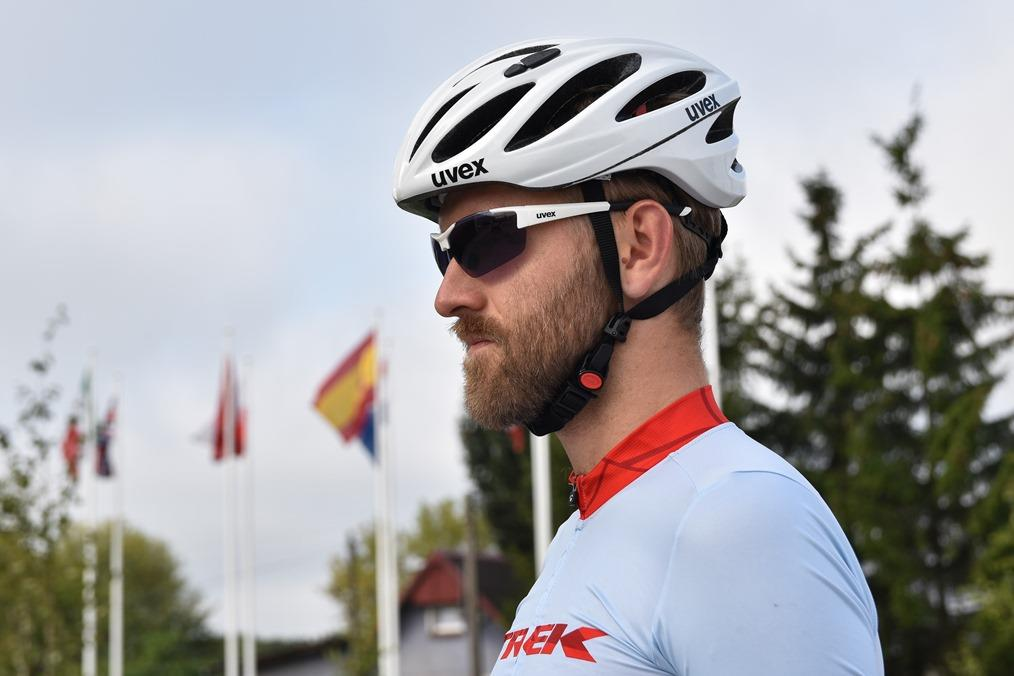 Test okularów rowerowych Uvex CentrumRowerowe.pl